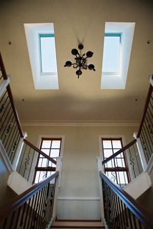 Velux Skylights over staircase
