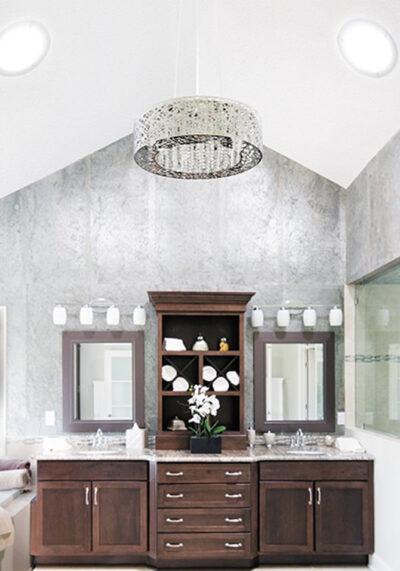 solatube skylights used in bathroom