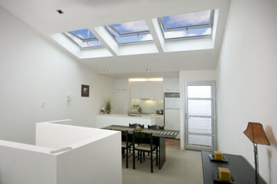 Velux in city unit
