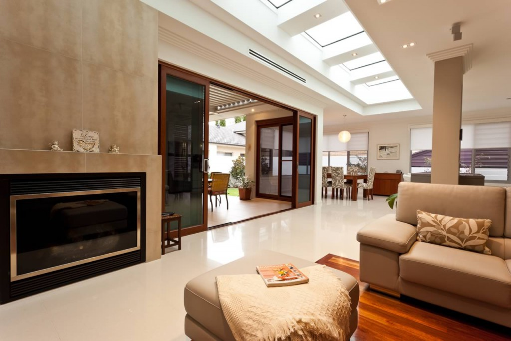 Velux skylights in melbourne home