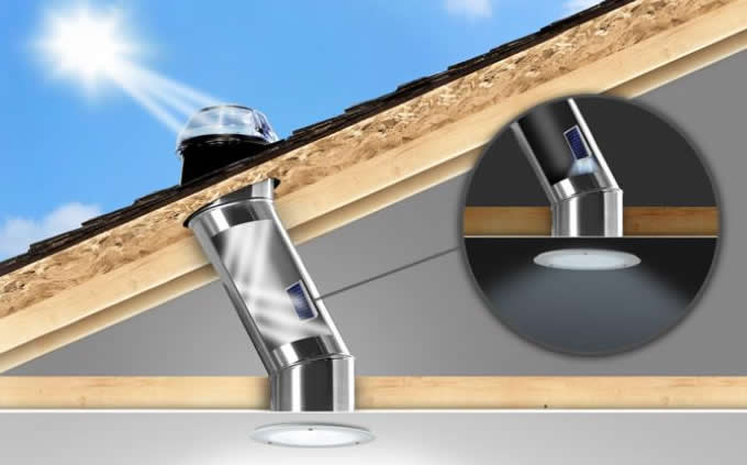 Solatube Skylight with new Night Light add on
