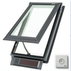 Solar Window with Keypad