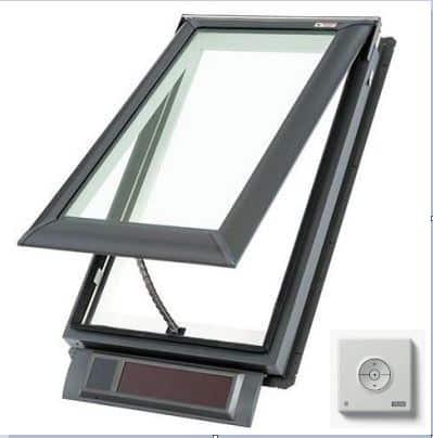 Solar Window with Keypad