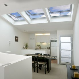 City Unit Kitchen & Dining Area Transformed with VELUX